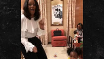 Michelle Obama Meets 2-Year-Old Girl Who Was Awed by Her Portrait