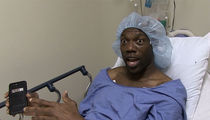 Terrell Owens Gets Stem Cell Surgery, Video Is Gnarly
