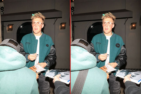 Can you spot the THREE differences in these Jake Paul photos?