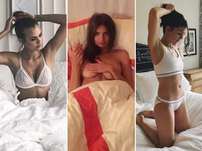 Spring Forward with Babes In Bed Photos