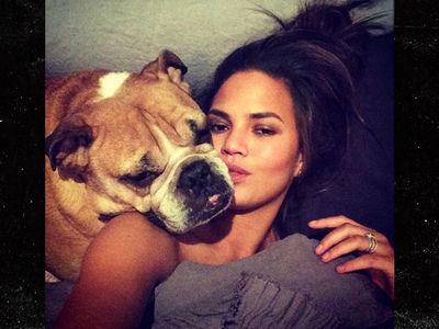 Chrissy Teigen's Beloved Dog Puddy Dies