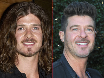 Robin Thicke -- Good Genes or Good Docs?