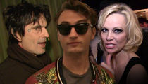 Tommy Lee's Son Brandon Was Defending Pam Anderson When Lee Attacked (UPDATE)