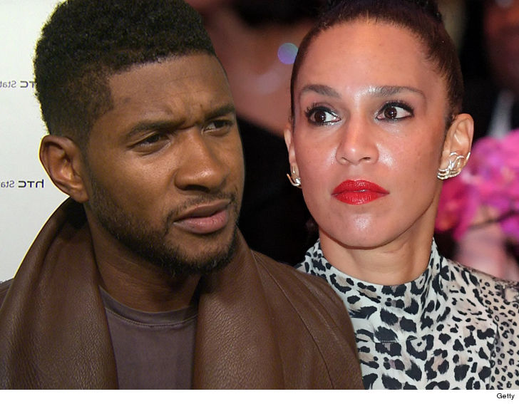 who is usher married to now