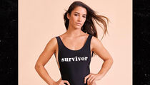 Aly Raisman Drops 'Survivor' Swimsuit for Child Sex Abuse Awareness on Women's Day