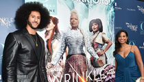 Colin Kaepernick Goes Black Panther at 'Wrinkle In Time' Premiere