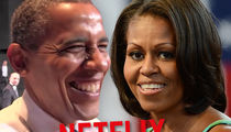 Barack and Michelle Obama Talking with Netflix About Providing Shows