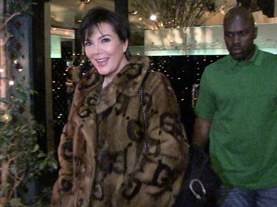 Kris Jenner Stumped After Paps Make Her Laugh