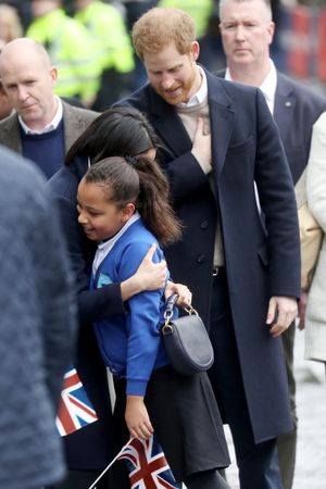 Prince Harry and Meghan Markle Celebrate International Women's Day
