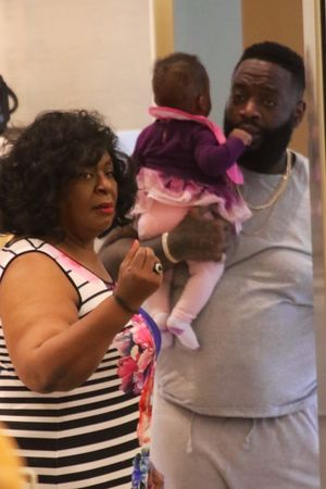 Rick Ross Shopping In Miami Days After Hospital Scare