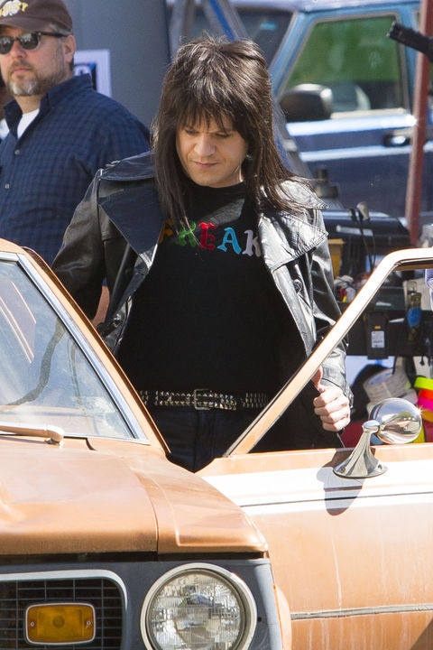 """Game of Thrones star Iwan Rheon looks totally unrecognisable as he takes the role of Mick Mars for his new movie """"The Dirt"""", which tells the story of how Mötley Crüe came to be one of the most notorious rock 'n roll groups in history."""