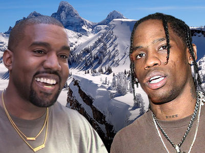 Kanye West Returns to Wyoming to Write Songs with Travis Scott & Co.