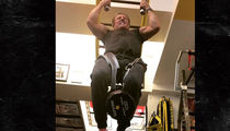 Sylvester Stallone Pumpin' 100-Pound Weighted Pull-Ups at Age 71
