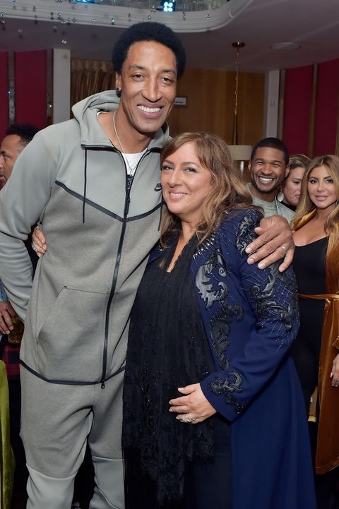 Scottie Pippen and Lorraine Schwartz