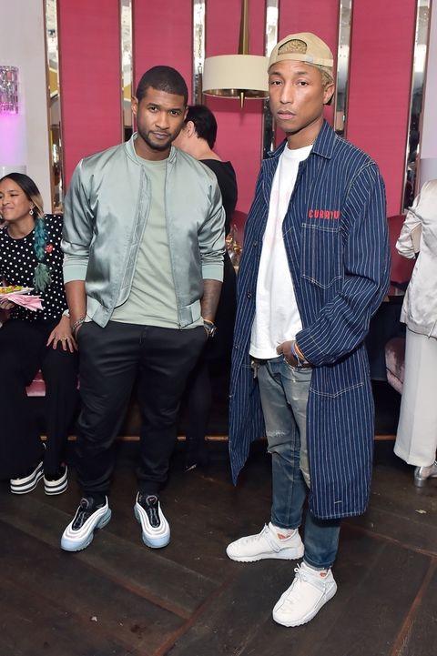 Usher and Pharrell