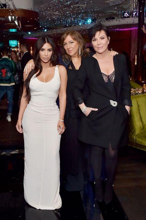 Kim Kardashian, Lorraine Schwartz and Kris Jenner