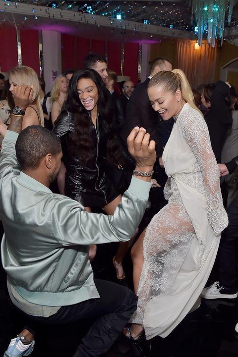 Rita Ora, Usher and Winnie Harlow