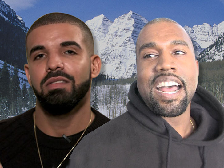Drake may very well be making an appearance on Kanye West's next album, because there are some hints he's in Wyoming too