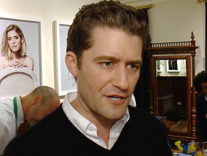 """Matthew Morrison, the star of """"Crazy Aliens,"""" is outraged and disgusted by the abuse of a dog on the film's set ..."""