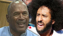 O.J. Simpson Rips Colin Kaepernick, 'Bad Choice Attacking the Flag'