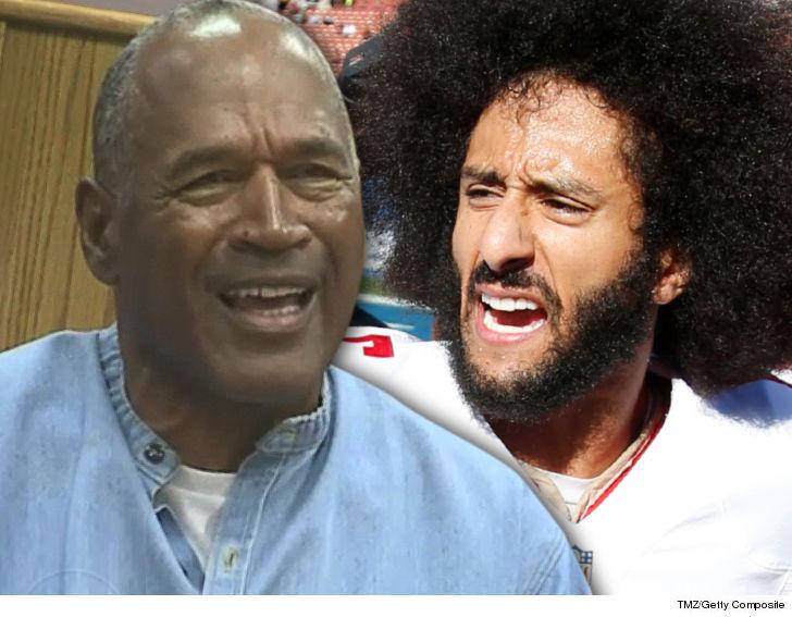 O.J. Simpson Rips Colin Kaepernick for Disrespecting the