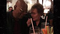 Samuel L. Jackson has Dinner with 'Boss' Judge Judy