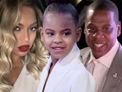 Jay-Z and Beyonce Let Blue Ivy Bid Big in Art Auction