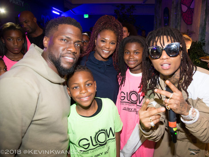 1eb3464a8ae9 Kevin Hart and Ex-Wife Throw Daughter  Black Panther -Themed ...