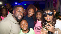 Kevin Hart and Ex-Wife Throw Daughter 'Black Panther'-Themed Birthday Party