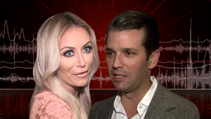 Aubrey O'Day's Topless Unreleased Music Vid Allegedly Aimed at Donald Trump Jr.