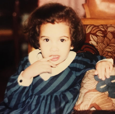 Before this curly haired cutie was acting in an award-winning television show, she was just another gal growing up in New York City.