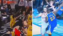 Karma Kicks Draymond Green in the Crotch During Warriors vs. Spurs