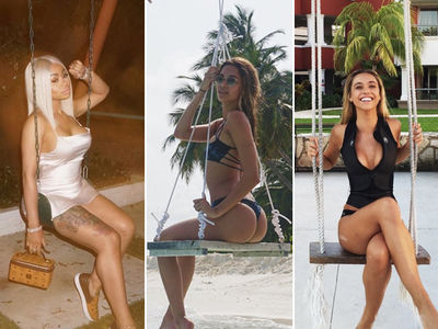 Sexy Stars Who Swing -- Pump Through the Pics