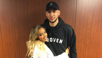 Ben Simmons and Tinashe Cozy Up After 76ers Game