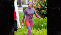 Mel B Wears Futuristic Full-Body Jumpsuit to 'America's Got Talent' Taping