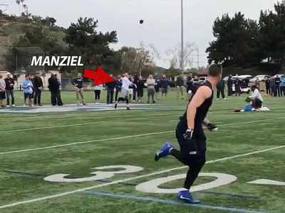 Johnny Manziel: Highlights of Showcase for NFL Scouts, Bombin' Deep Balls!