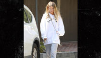 Justin Bieber's New Girl, Baskin Champion, Seen Leaving His Beverly Hills Home
