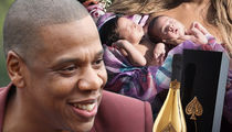 Jay-Z Hints at Champagne Bottle Named in Honor of Sir & Rumi