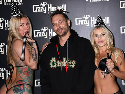Kevin Federline Celebrates 40th Birthday at Vegas Strip Club