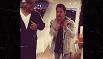 Will Smith Gets Salsa Lessons from Marc Anthony