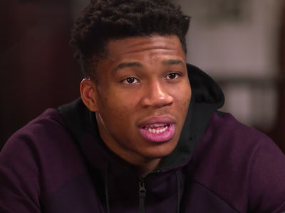 Giannis Antetokounmpo Describes Hustling As A Kid To Feed Family
