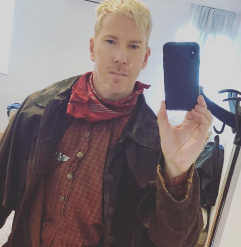 Chris Owen -- now 37 years old -- recently shared a southern-style selfie for the upcoming 'Sharknado.'