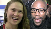 Ronda Rousey: Floyd Mayweather Fighting MMA Is 'All Talk,' He'd Get Crushed!