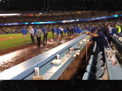 Dodgers Scramble to Clean Up Sewage Spill for Opening Day