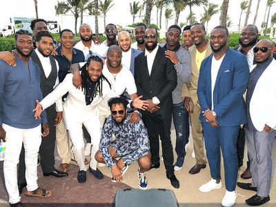 Richard Sherman Reunites with Legion of Boom at His Badass Beach Wedding!