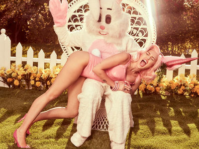 Miley Cyrus' Easter Photo Shoot Gets a Little Naughty