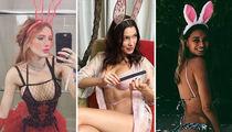 Sexy Celebunnies -- Hoppy Easter!