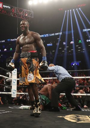 Deontay Wilder Fight Photos