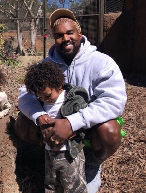 Kim and Kanye Take Family to San Diego Zoo