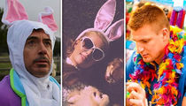 Hollywood Celebrates Easter 2018 in Style